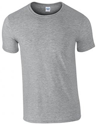 Gildan Softstyle Ringspun T-Shirt : Color - Sports Grey : Size - L