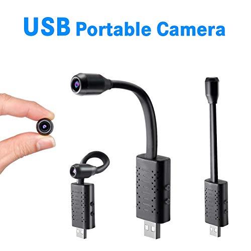 RONSHIN Accesorios para cámara U21 HD Smart Mini cámara USB de Gran Angular, cámara remota, Monitor de cámara pequeño, cámara IP para el hogar y la Oficina
