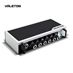 Pure Analog Preamp Design with Super Wide Tonal Range from the Pristine Chime to Classic British Crunch, to Roaring Hi-Gain Max. 20W Pure Solid State Output Power sounds and responses like Vacuum Tubes Amp with Rich and Harmonic Tone AUX IN & Phones ...