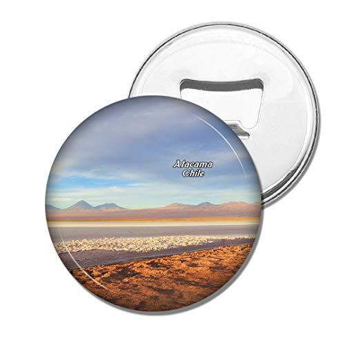 Weekino Lac Salé Atacama Chili Bière Ouvre-Bouteille Aimant De Réfrigérateur Voyage Souvenir Autocollant de réfrigérateur Fort