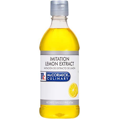 McCormick Culinary Imitation Lemon Extract, 16 fl oz