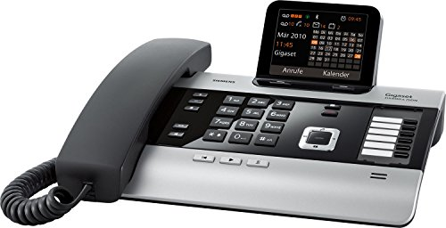 Siemens Gigaset DX600A SET mit 1x C59H Mobilteil – ISDN, Anrufbeantworter, Bluetooth® ECO DECT