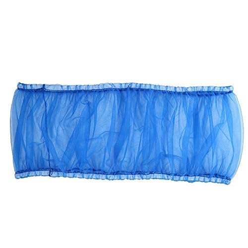 Cubierta de jaula de pájaros de malla de nylon jaula de pájaros atrapador de semillas ventilado jaula de loro cubierta de red elástica jaula para mascotas Shell falda