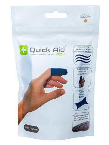 Quick Aid® Pflaster Wundverband selbstklebend latexfrei 6 x 100 cm (hautfarben)