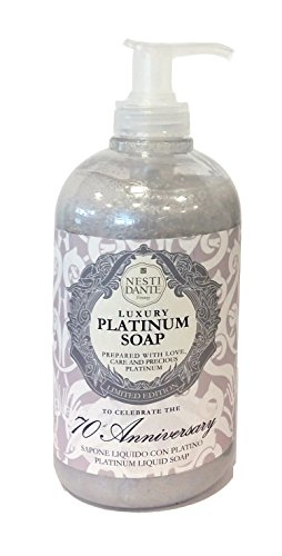Nesti Dante Liquid Soap 70th Anniversary Platinum, 500 ml