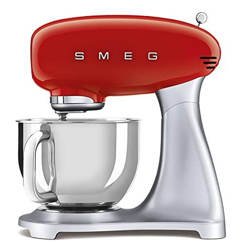 Smeg SMF02RDEU Küchenmaschine, 18/8...
