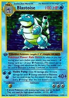 Pokemon - Blastoise (2/102) - Base Set - Holo