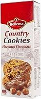 Hellema Country Hazelnoot Chocolade Koekjes Hazelnut Chocolate Cookies - Koeken met stukjes hazellnoot gedeeltelijk...
