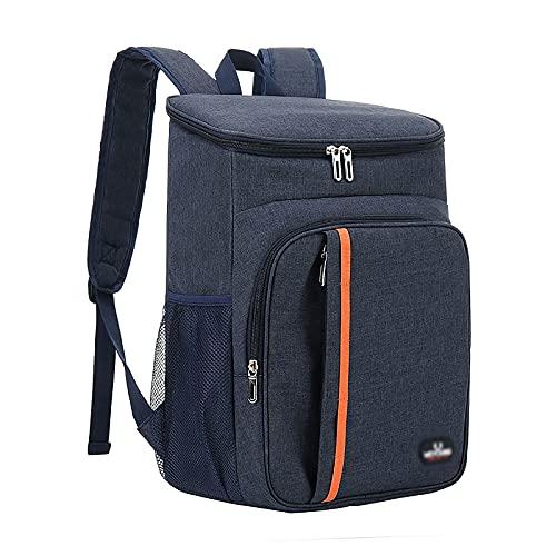 Ohstgp Mochila enfriadora de 29 x 19 x 41,9 cm, a prueba de fugas, suave bolsa térmica ligera, caja de almuerzo de gran capacidad para camping, picnic, playa, senderismo, excursión de un día al parque