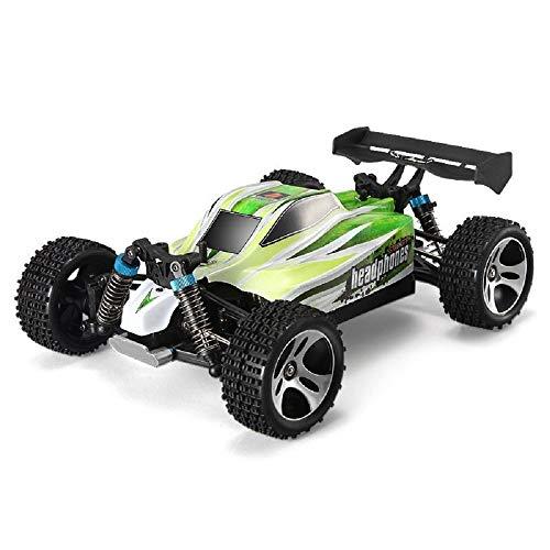 efaso WL Toys A959-B + Zusatzakku - schneller RC Buggy 70 km/h schnell, wendig, voll digital proportional - 2.4 GHz RC Auto mit Allradantrieb - Maßstab 1:18, hoher Fun Faktor