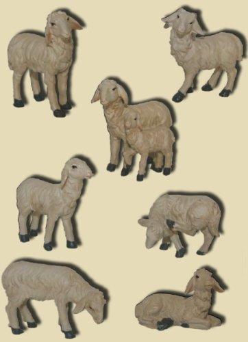 Schafe 7tlg. geeignet für 15 bis 20cm Figuren