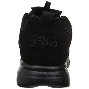 Fila Men's Disruptor SE Training Shoe, Triple Black, 9.5 M US