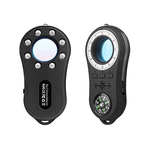 WULAU Detector de Insectos antiespía, localizador GPS, Detector de cámara Oculta, sensibilidad, Dispositivo gsm Multifuncional, escáner de Radio, Alarma de señal inalámbrica, Detector de señal RF
