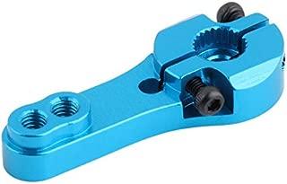 Upgrade 25T Puffer Metall Lenkgetriebe Arm Für WLtoys 1:18 A949 A959 A969 Blau