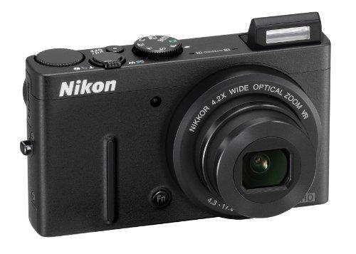 """Nikon Coolpix P310 Fotocamera Digitale Compatta, 16,1 Megapixel, Zoom 4,2X, 3200 ISO, LCD 3"""", colore: nero [Versione EU]"""