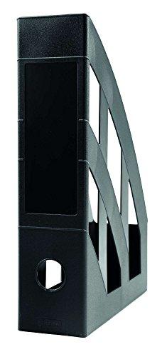 Idena 300847 - Stehsammler für DIN A4, aus Kunststoff, schwarz, 1 Stück