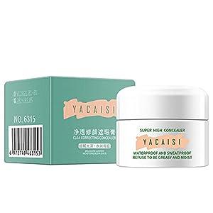Su-xuri - Crema antiojeras de larga duración, mejor crema antiojeras, cobertura completa, maquillaje facial eficaz y práctica.