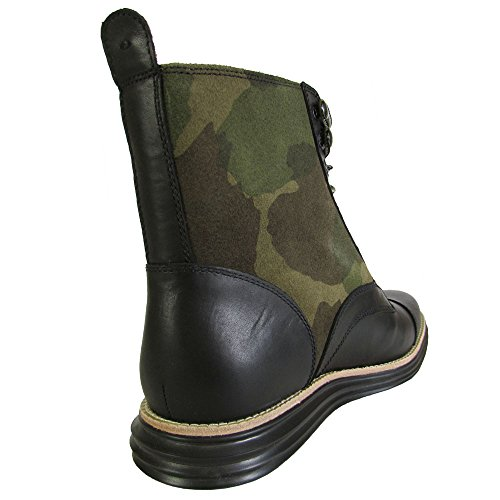 Cole Haan Mens Lunargrand Lace Snow Boot Shoe, Forest Camo Sde, US 7