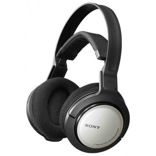 Sony MDR RF 840 RK Funk-Kopfhörer schwarz/silber