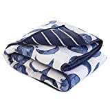 Burt's Bees Baby - Reversible Quilt, Baby and Toddler Nursery Blanket, Organic Cotton Shell & Polyester Fill (Hello Moon!)