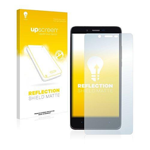upscreen Entspiegelungs-Schutzfolie kompatibel mit Elephone P6000 Pro – Anti-Reflex Bildschirmschutz-Folie Matt
