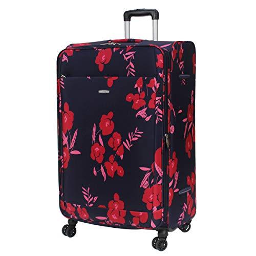 Ariana Lightweight 4 Wheel Suitcase, Large Hold Luggage - RT561 (Large - 29' (H80xW50xD30cm), Navy)