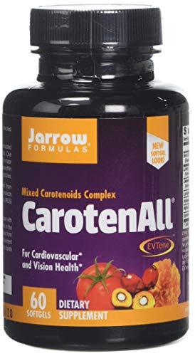 Jarrow Formulas Carotenall, 60 Capsules