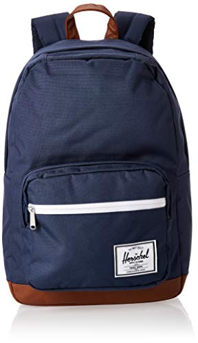 Product Image of the Herschel Pop Quiz Backpack, Navy/Tan, Classic 22L