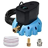 5. EDOU Automatic Swimming Pool Cover Pump 1200 GPH,1/6-HP,110V,Including 3 Adapters and 16' Drainage Hose Blue