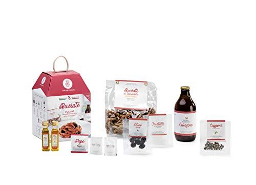 BUSIATE SICILIANE My Cooking Box x2 Porzioni - Per una serata tra amici, una cena romantica o come idea regalo originale!