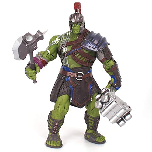 ZQBY7AA Figura de acción Gladiador Hulk Hulk Modelo Marvel Thor 3 Toy, 20cm