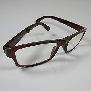 STOLZ opvouwbare praktische leesbril +3,0 bruin SIE & HN kant-en-klare bril etui