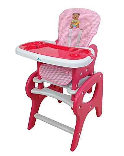 Trona para bebé convertible en mesa y silla, panda...