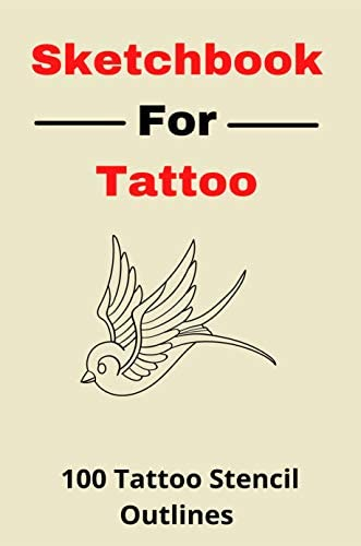 Sketchbook For Tattoo 100 Tattoo Stencil Outlines Drawing Exercises For Tattoo Artists product image