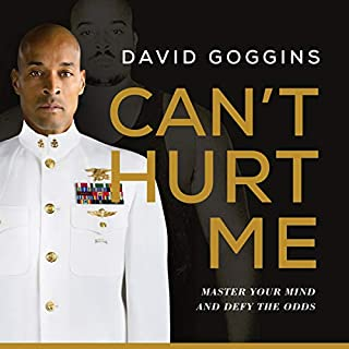 Can't Hurt Me audiobook cover art