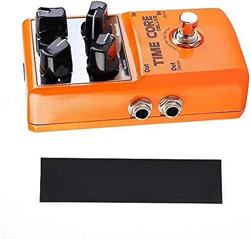 RiToEasysports Effektpedal Gitarrenpedale Mini Delay Effect Einzelblock für E-Gitarre mit acht Verz rungstypen