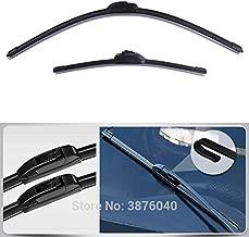 Wipers U/J Type Bracketless Windscreen Wipers For toyota hilux verso prius prado sienna fortuner vios Car Wiper Blade - (Item Length: 18