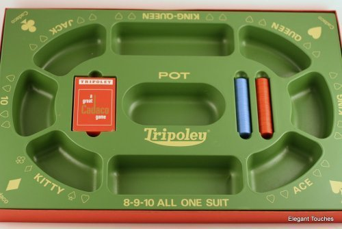 TRIPOLEY: The Original Game of Hearts, Poker and Michigan Rummy..(1968) by CADACO, Inc. by Cadaco