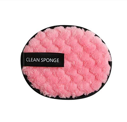 KUSAWE Éponge de maquillage 2pcs démaquillant Serviette nettoyant pour Le Visage tampons feuilletés Mode w