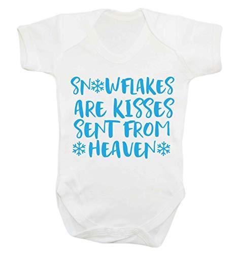 Flox Creative Snowflakes Kisses from Heaven Gilet pour bébé - Blanc - Nouveau né
