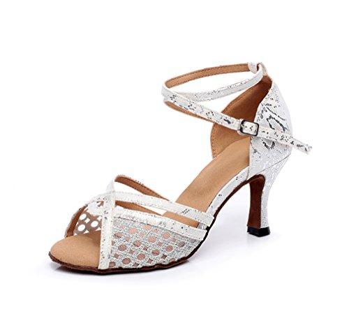 Minitoo , Damen Tanzschuhe , Silber - silber - Größe: 37.5