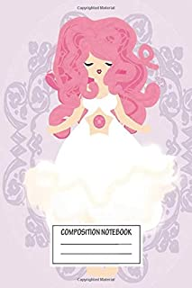 Notebook: Rose Quartz , Journal for Writing, Size 6