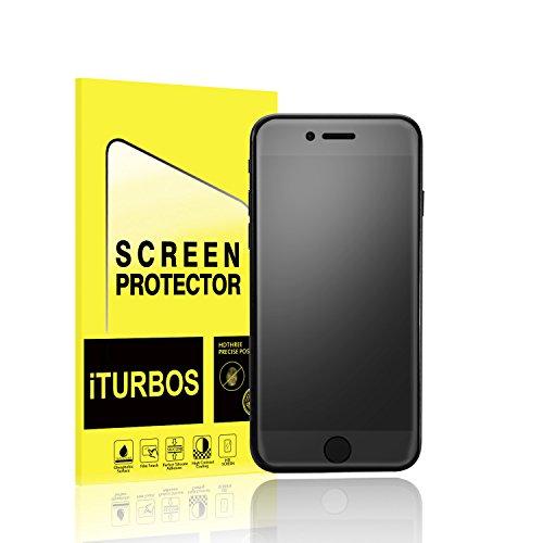 iPhone 7 Screen Protector [2-Pack], iTURBOS [Anti-Glare] [Anti-Glare] [Anti-Fingerprint] Full Screen Coverage 3D PET HD Screen Protector Film for Apple iPhone 7.