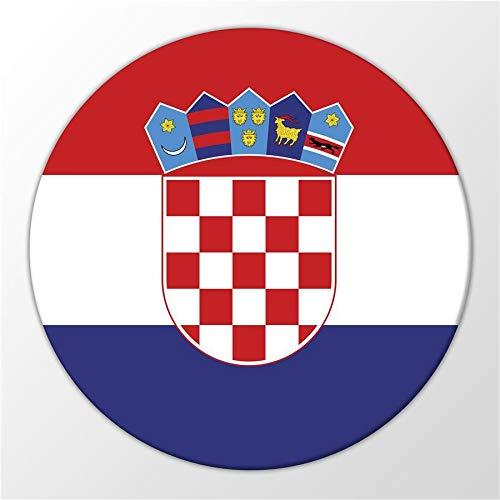 Kühlschrank Magnet Croatia Kroatien Flagge Balkan Insel Magnettafel Whiteboard