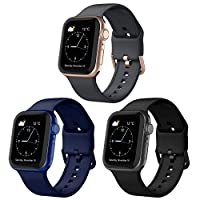 Color Clasp: The apple watch bands adopted metal classic clasp, it is more security and stable. We match different colors clasp according to the different colors of the apple strap. Appropriate matching, make your apple watch more amazing. Waterproof...