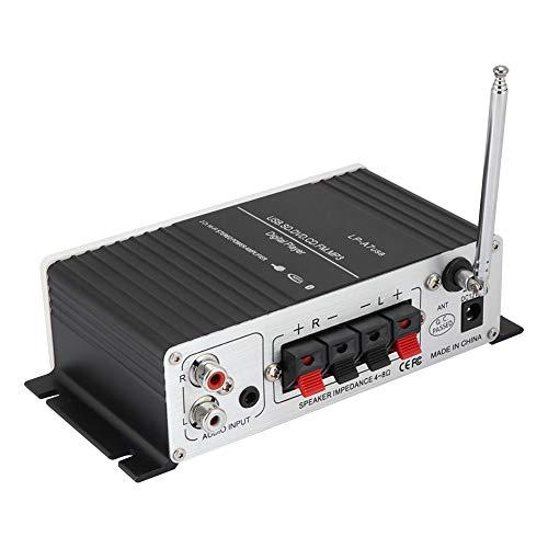 KASD Amplificador, Audio Sin Pérdidas De Aluminio del Altavoz del Coche De Digitaces para El Coche para La Música