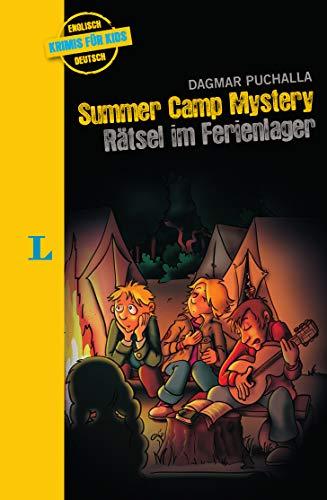 Langenscheidt Krimi für Kids: Summer Camp Mystery – Rätsel im Ferienlager, Englische Lektüre für Kinder, 1.-2. Lernjahr (Langenscheidt Krimis für Kids)