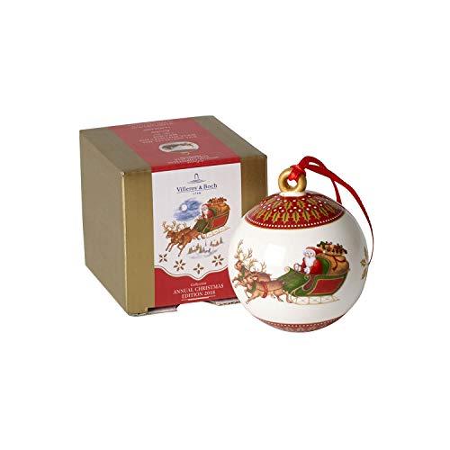 Villeroy & Boch 14-8626-6860 Decorazione Natale, 7 cm Bianco