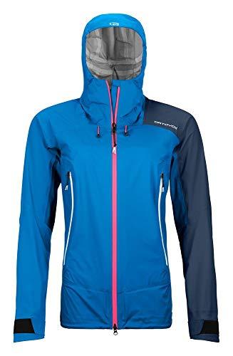 ORTOVOX Damen Westalpen 3L Light Jacke, Safety Blue, S