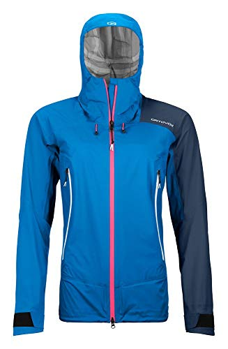 ORTOVOX Damen Westalpen 3L Light Jacke, Safety Blue, M